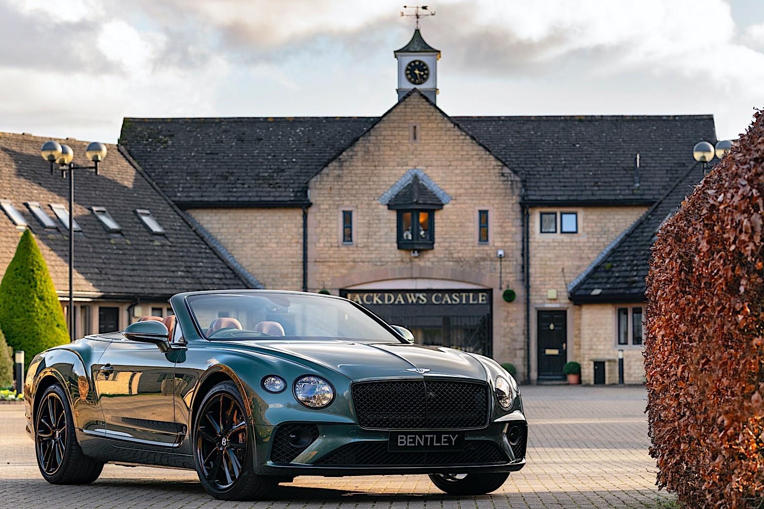 Bentley Continental Gt Convertible Equestrian Edition Namastecar